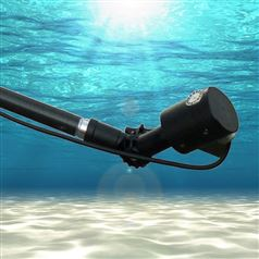 Underwater Inspection System with Beam Reach Extension
