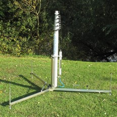 Pneumatic Mast Tripod for 80mm or 66mm