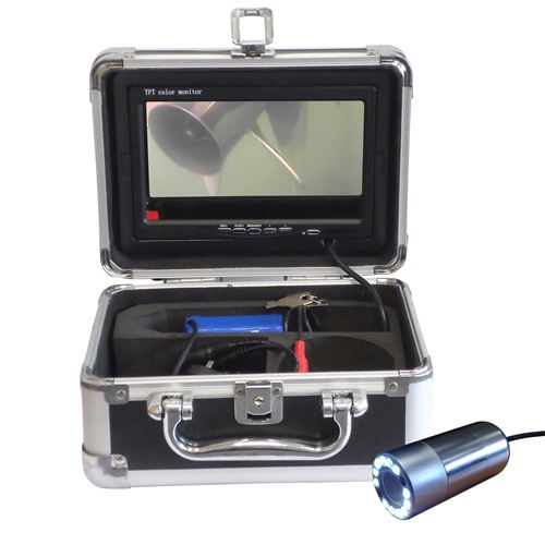 "Underwater Inspection Camera with 7"" DVR Monitor"