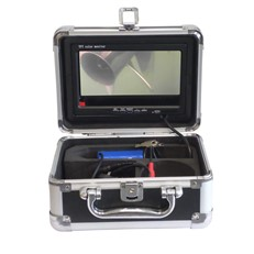 Telescopic Underwater Inspection Camera and Monitor