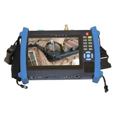 Aerial Pole Survey Camera with Extended Reach and Touch Screen DVR Monitor